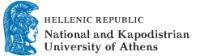 National and Kapodistrian University of Athens (logo)